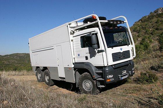 Luxus lakó-kamion