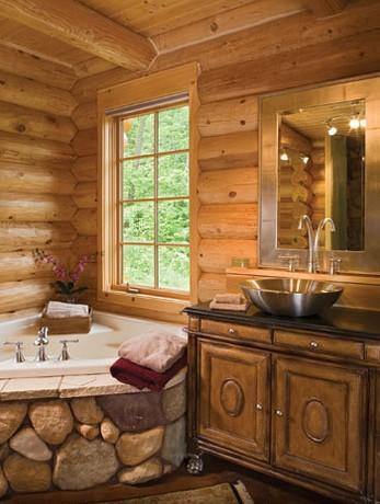 Rönkház   fürdőszoba